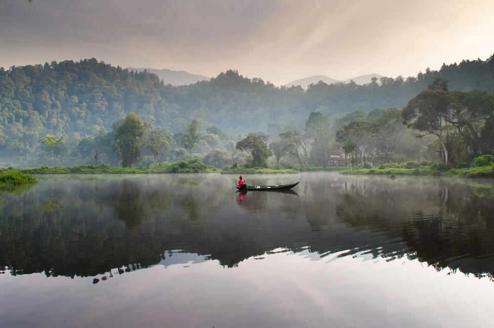 Danau Situ Gunung Taman Nasional Gunung Gede Pangrango