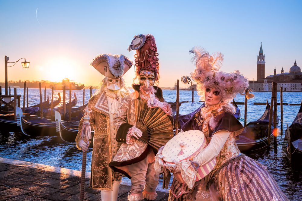Grab Your Cape and Mask for The Winter Carnival That Will Transport You to a Sumptuous Fantasy World