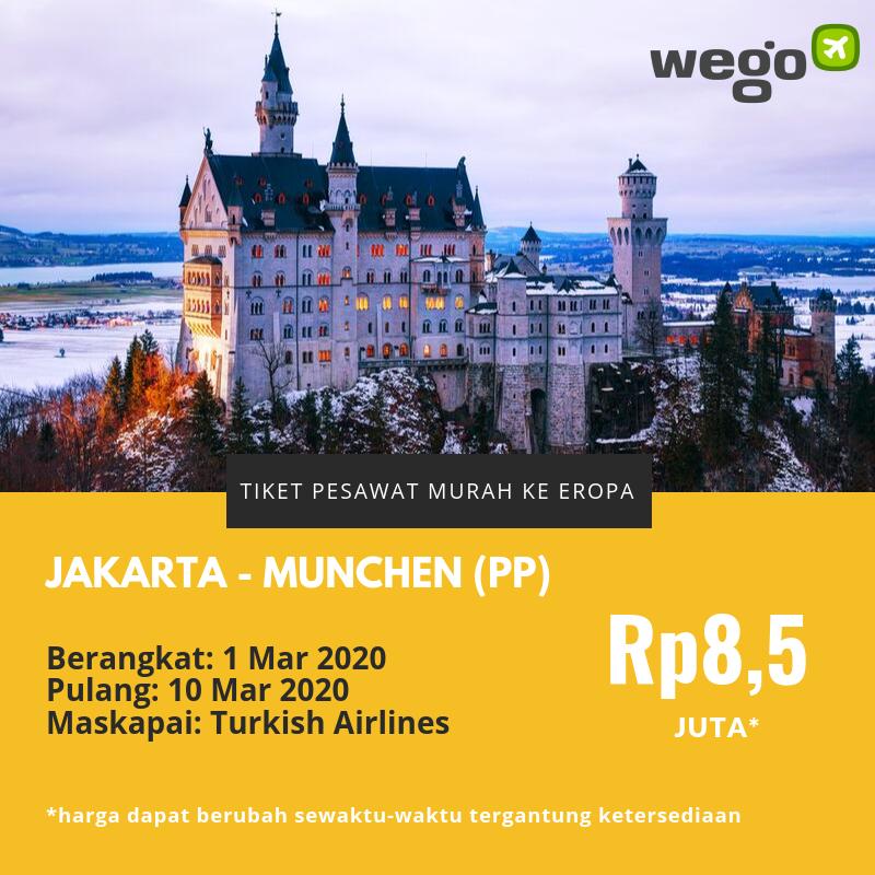 Tiket Pesawat Murah Jakarta Munich
