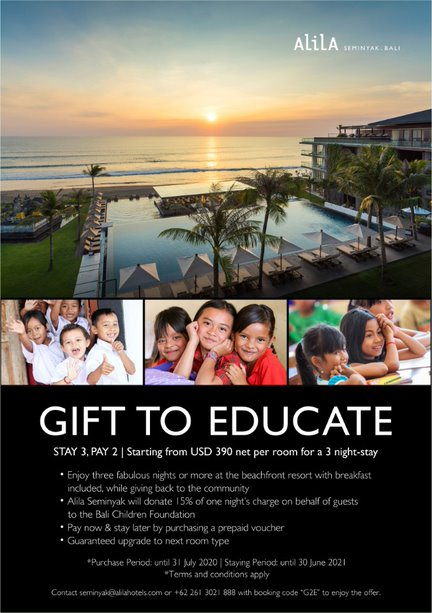Promo Book Now Stay Later Bali