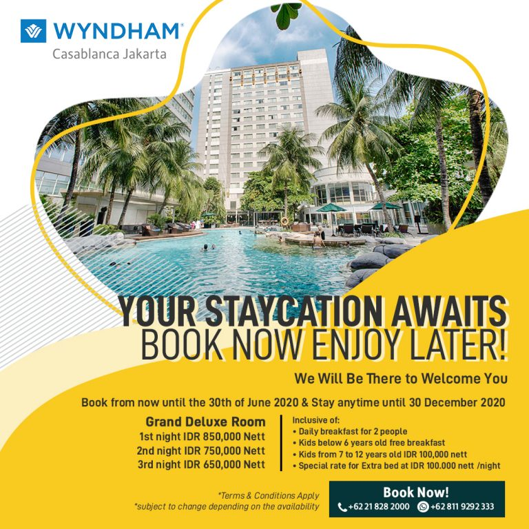 Promo Book Now Stay Later Jakarta