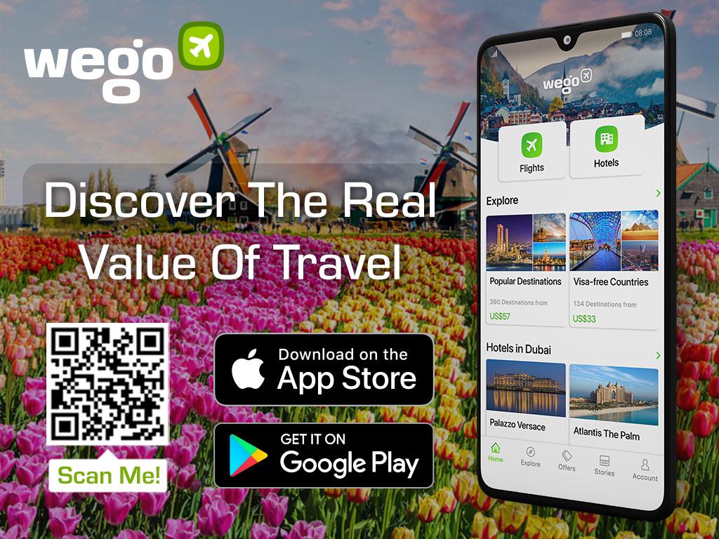 Wego app to book flights Netherlands