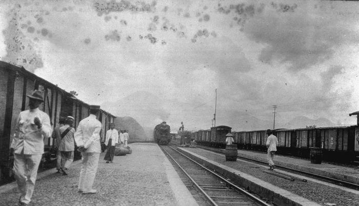 Stasiun Cibatu Tjibatoe Garut