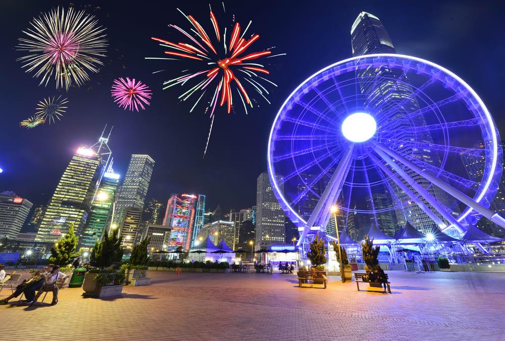 Celebrating Winter Holiday in Hong Kong