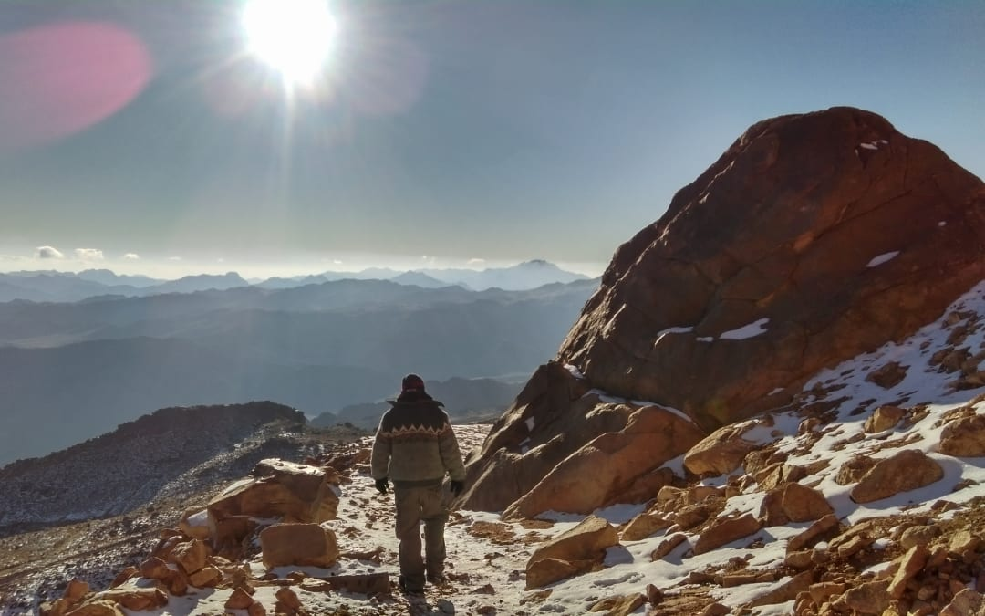 Standing Above the Clouds on Mount Sinai: My Arduous Hike Revealed Something Completely Otherworldly