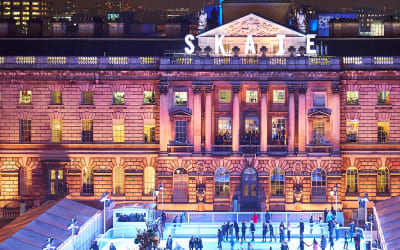 Eight Most Beautiful Christmas Ice Rinks in Britain