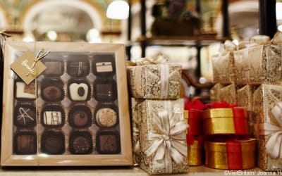 Chocolate Hot Spots in the UK