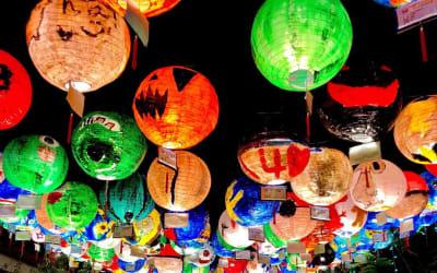2019 端午連假出遊,就直奔鹿港小鎮! 賽龍舟、夜賞花燈、大啖美食~