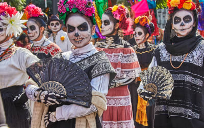 The Most Colorful Celebration of the Dead: All Skulls and Smiles on Dia de Los Muertos