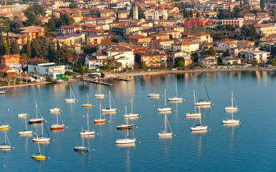 This Scenic Lake Surrounded by Charming Little Towns Will Make You Feel Like You're a Character in a Dramatic Italian Novel