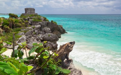 This Island With Exquisite Mayan Ruins is Celebrities and Instagrammers' Favorite Tropical Escape