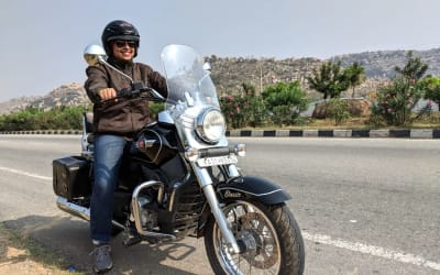 Inspiration From the Road: A Quick Chat With an Indian Female Travel Biker