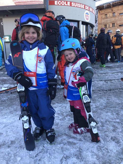 ski trip in verbier