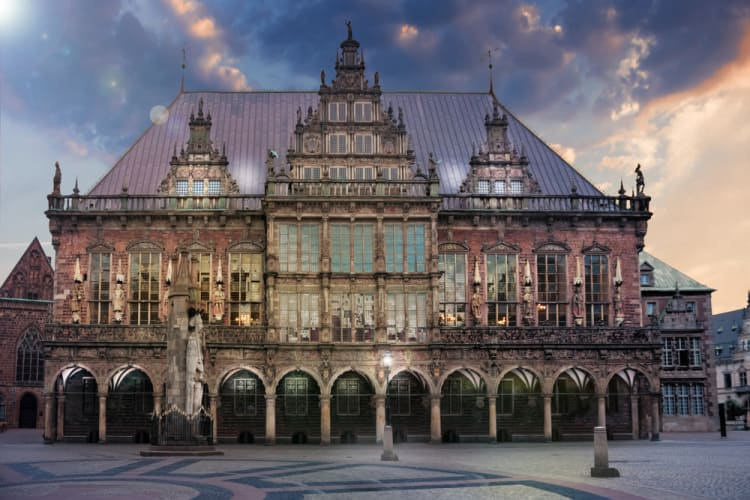5 Enchanted Places in Germany Straight out of Fairytales - Bremen City Hall