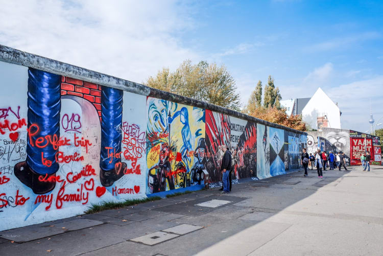 East Side Gallery Berlin - Top Historic Locations in Europe