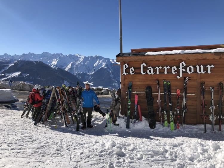 Le Carrefour_ski trip in verbier