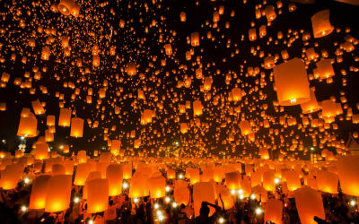 5 Upcoming Lantern Festivals You Absolutely Don't Want to Miss — Watch the Paper Stars Light Up the Night Sky