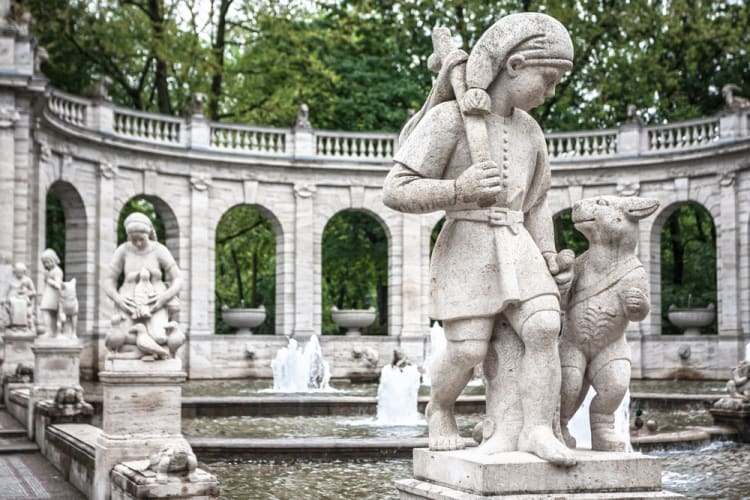 marchenbrunnen - the most romantic locations in Berlin