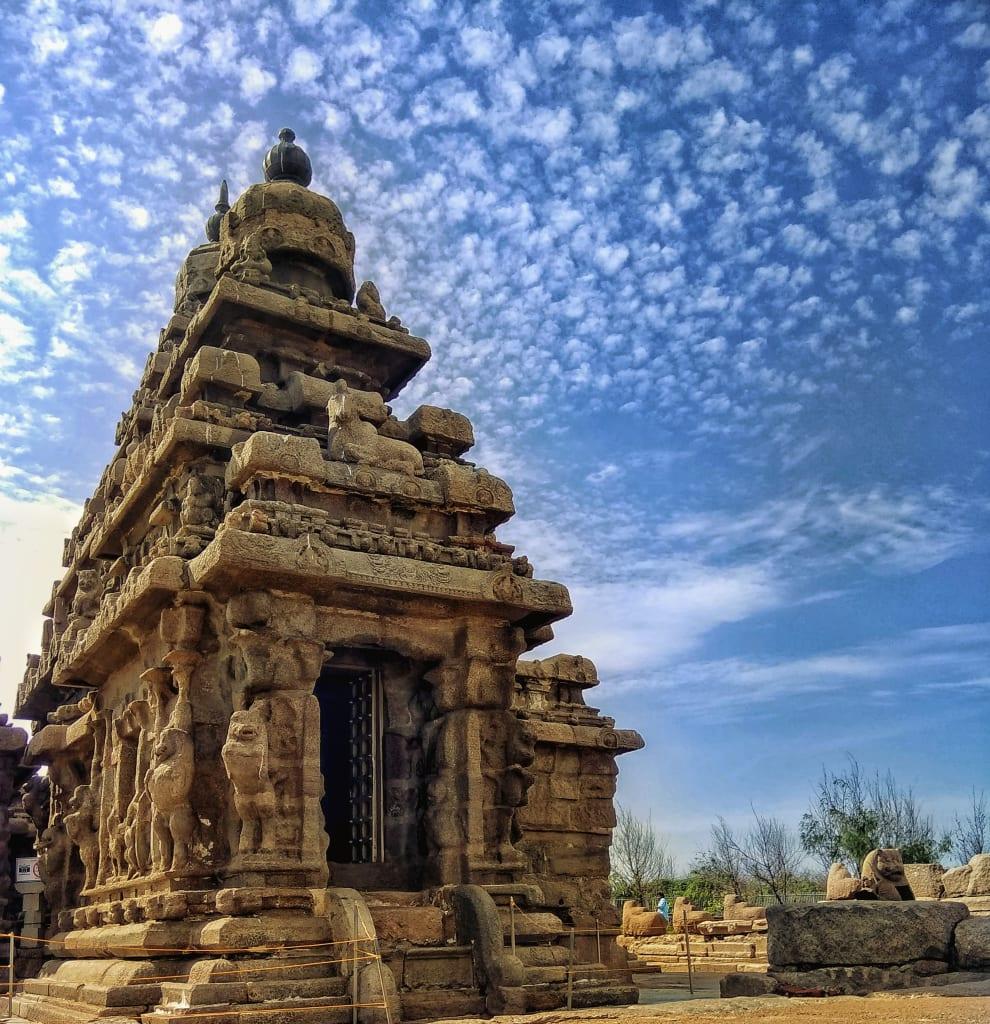 Mahabalipuram shore