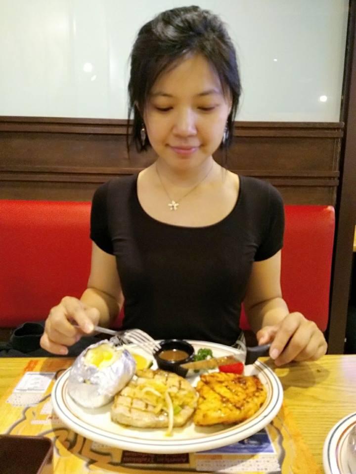 瘦身後的我愛上吃排餐