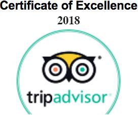 Certificate Excellence TripAdvisor Nicaragua