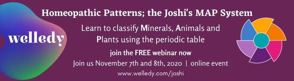 Watch the FREE webinar on the Joshis MAP system