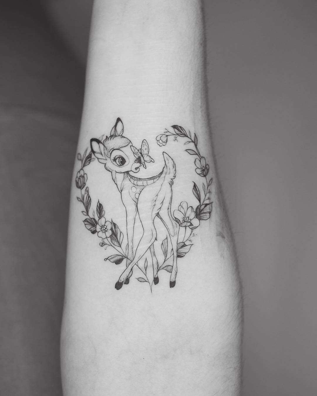 Disney Bambi tattoo