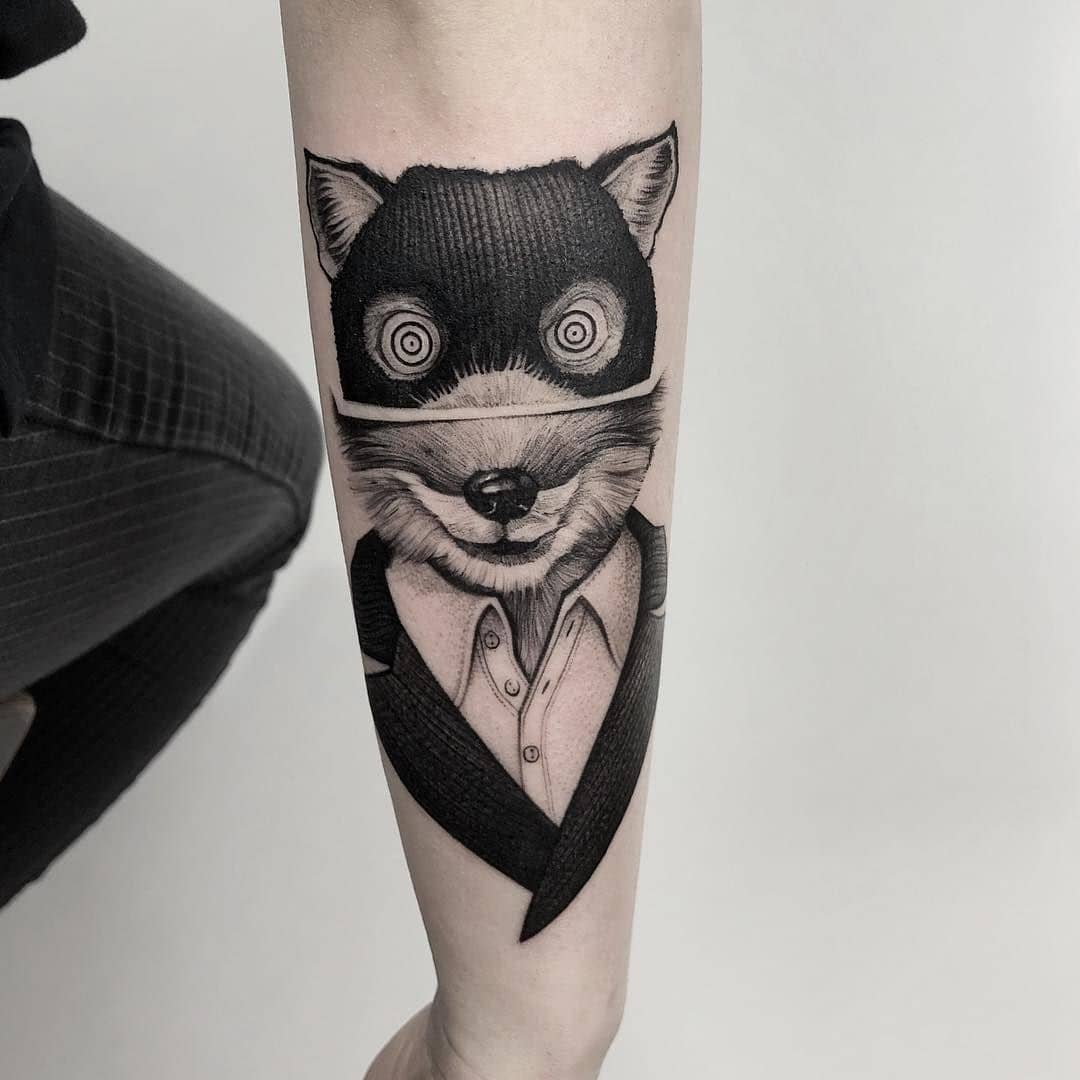 Fox tattoos Vol. 1