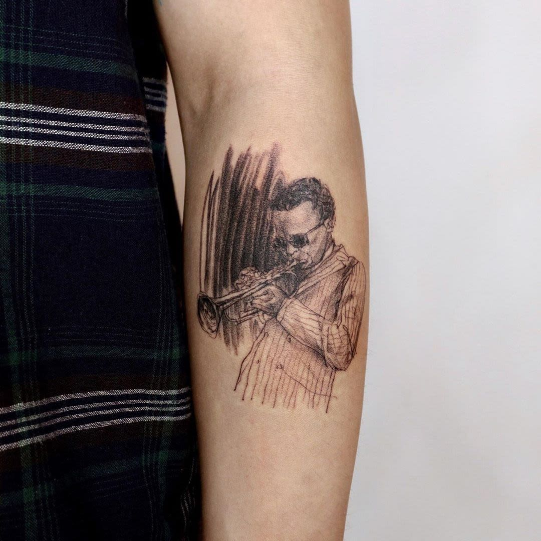 Music Instrument tattoos
