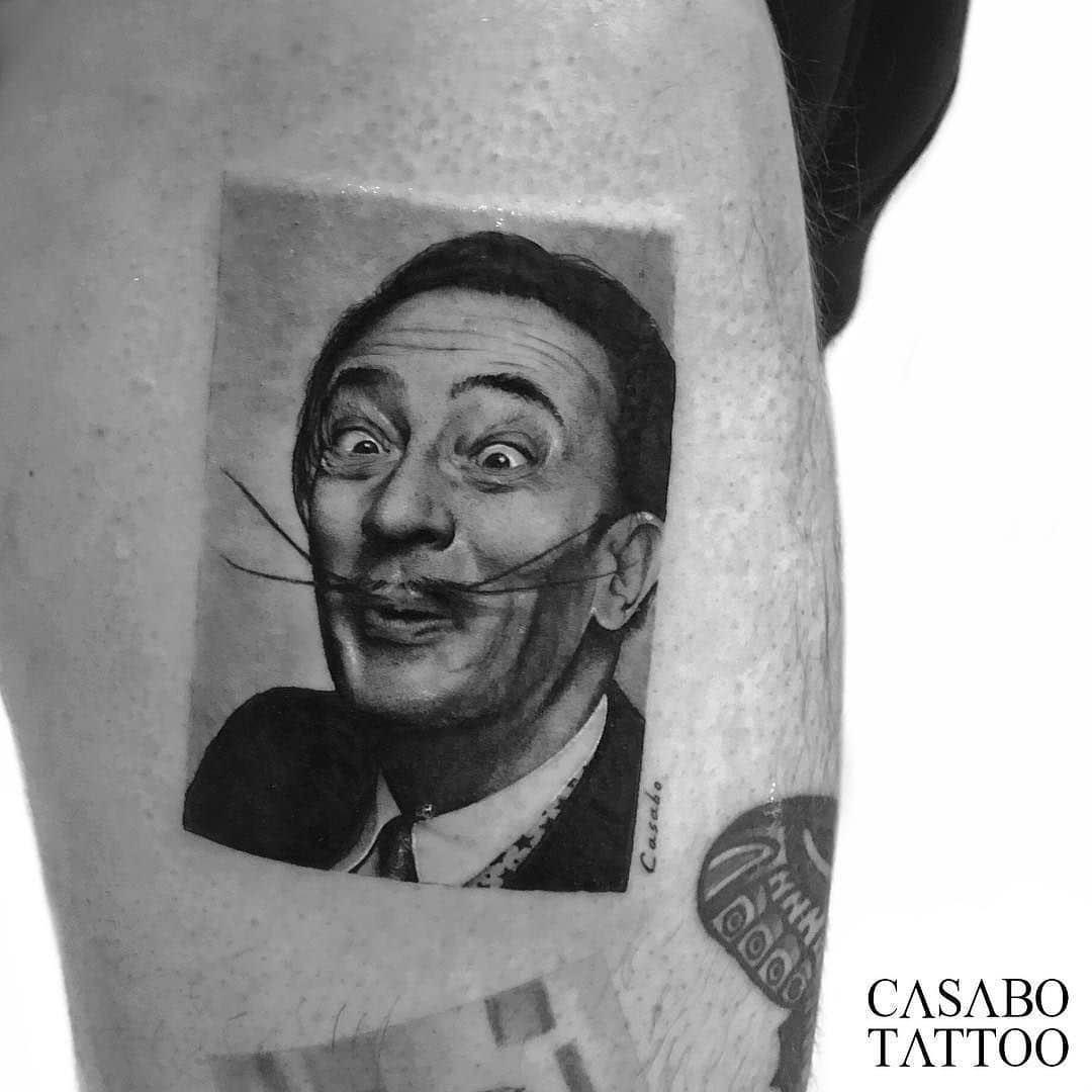 Salvador Dali tattoos Vol. 1