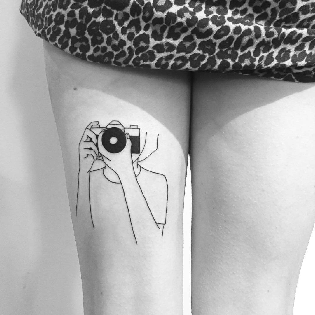 Yi Stropky Camera Photography tattoo