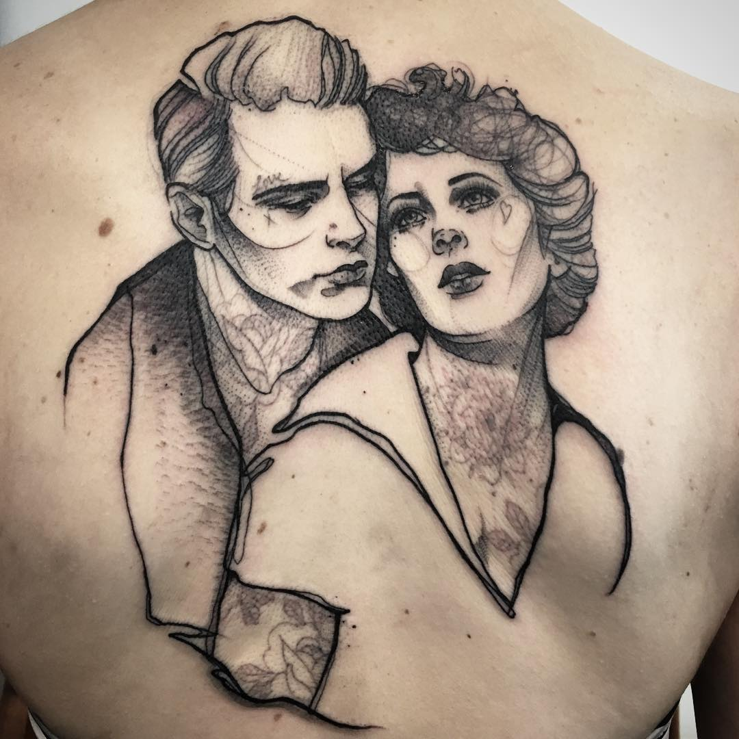 Anki Michler Couple Tattoo