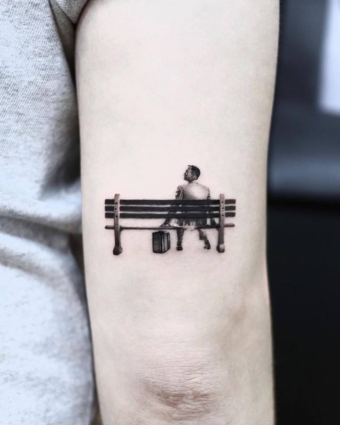 Forrest gump tattoo by Yeono