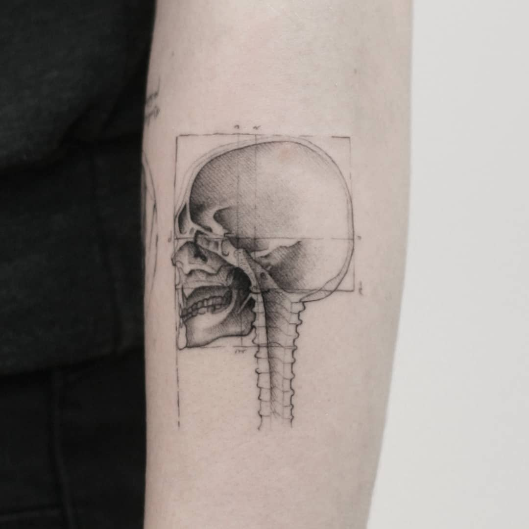 Thommesen Ink Skull Tattoo