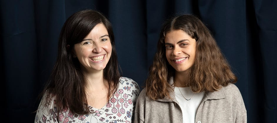 Denise de Roux et Natalie Marar