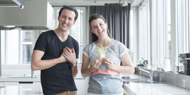 Kochen, flirten, sich verlieben: Interview mit Irina & Guy von