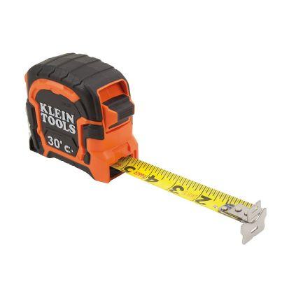 KLEIN® TOOLS 86230 Tape Measure 30-Foot Magnetic Double-Hook