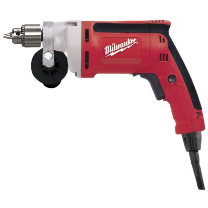 Milwaukee® 0100-20 Magnum™ Grounded Electric Drill, 1/4 in Keyed Chuck, 120 VAC, 2500 rpm Speed, 11-1/2 in OAL