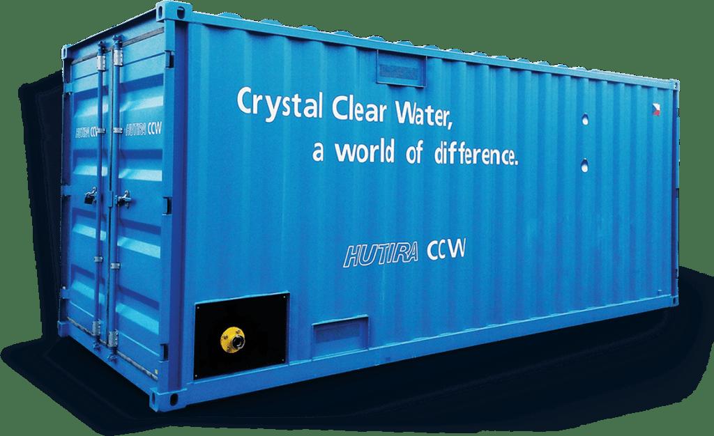 kontejnerová úpravna pitné vody