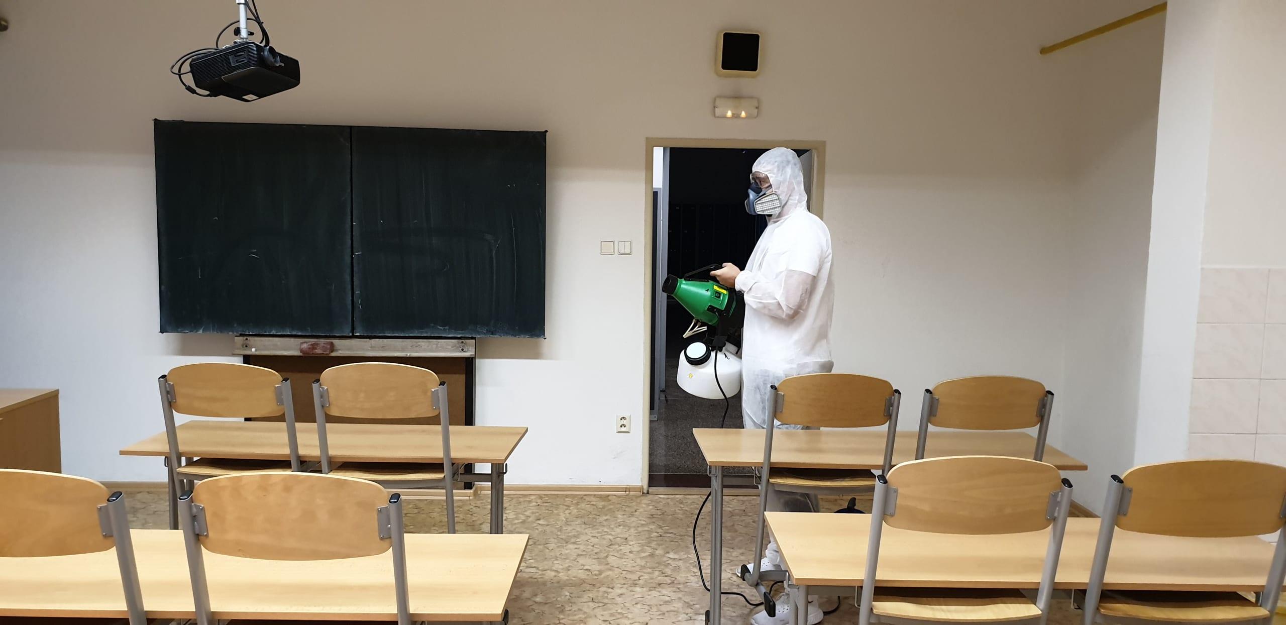 dezinfekce prostor