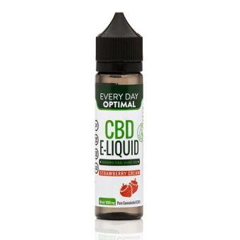 Every Day Optimal - 1,000mg Pure CBD Vape Oil | Strawberry Cream