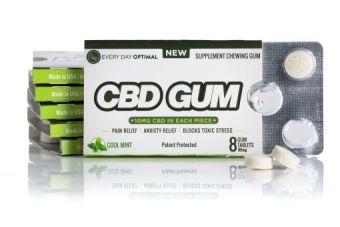 Every Day Optimal - CBD Gum 10mg Pure CBD In Each Piece