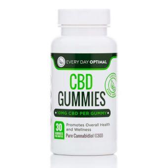 Every Day Optimal - CBD Gummies, 10mg CBD Per Gummy