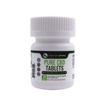 Every Day Optimal - CBD Tablets | 100mg Pure CBD per capsule
