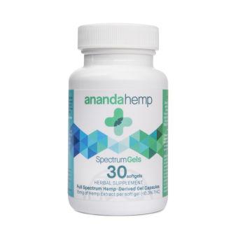 anandaHemp - SPECTRUM GELS 30 COUNT