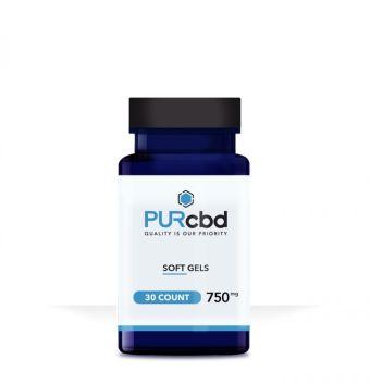 PurCBD - PUR CBD Soft Gels - 750mg