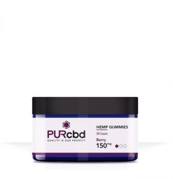 PurCBD - PUR CBD Hemp Gummies Berry - 150mg