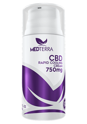 MedTerra - CBD RAPID COOLING CREAM - 750MG