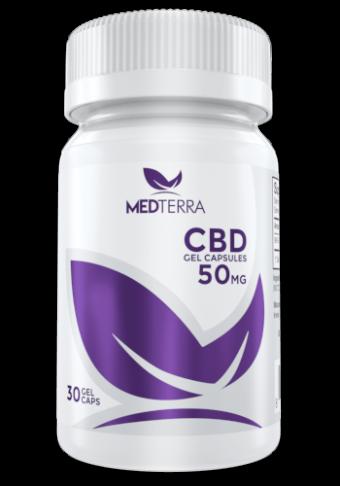 MedTerra - CBD GEL CAPSULES-50mg