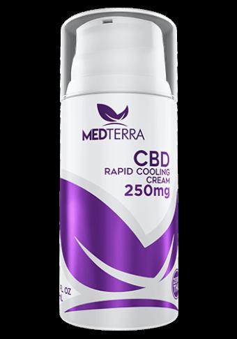 MedTerra - CBD RAPID COOLING CREAM - 250MG